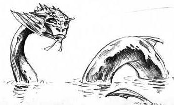 Water naga
