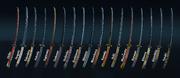 Every Kensei Weapon Set