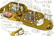Asmodeus (living quarters) concept