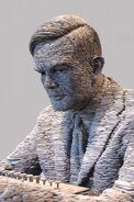 Turing in slate