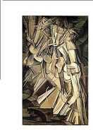 MARCEL DUCHAMP - NUDE DESCENDING A STAIRCASE