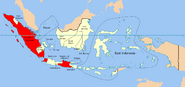 Map of the State of Indonesia