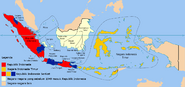 Map of the States of Indonesia