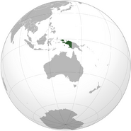 Map of Netherlands New Guinea