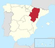 Aragon in Spain