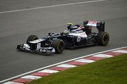 2012 Canadian Grand Prix Bruno Senna Williams FW34-02