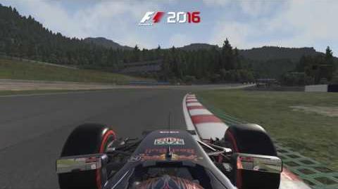 F1 2016 - Circuito Red Bull Ring de Austria con Max Verstappen.