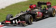 Kimi Raikkonen 2013 Malaysia FP2