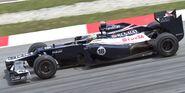 Pastor Maldonado 2012 Malaysia FP2