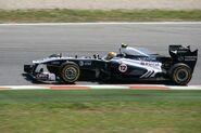 Williams FW33 Maldonado 2011 Spanish GP