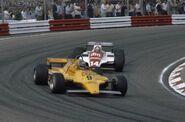 Gran Premio De Paises Bajos 1981 Slim Borgudd junto a Eliseo Salazar