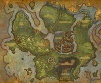 Ruinen von Gilneas Karte