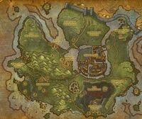 Gilneas Original Karte