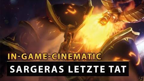WoW Legion Cinematic - Antorus Sargeras letzte Tat DE Vanion