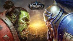 Battle for Azeroth KeyArt02 Orc vs Human