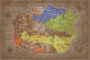 Weltkarte Entstehung Warcraft-Volume 1