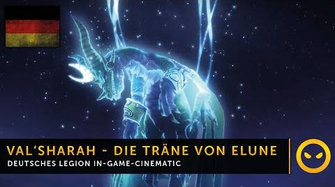 DE WoW Legion - In-Game-Cinematic Die Träne von Elune Vanion