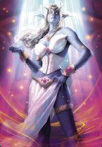 Queen Azshara TCG WotA-H 027 A