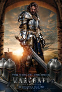 Warcraft King Llane UK 1 Sheet