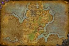 Gorgrond Map WoD DE