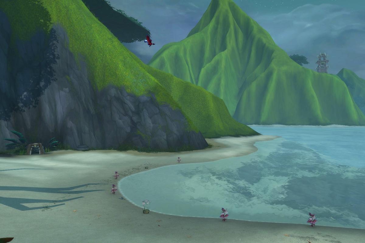 Der Abgelegene Strand