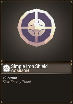 Simple Iron Shield