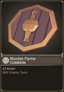 Wooden Parma