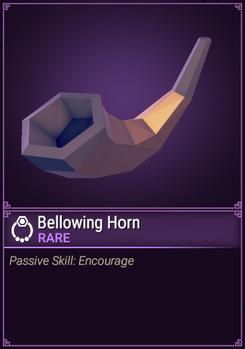 Bellowing Horn