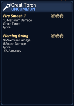 Great Torch - Abilities
