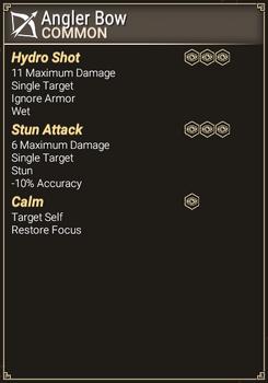 Angler Bow - Abilities