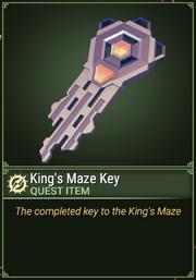 Quest-Item-Kings Maze Key.png