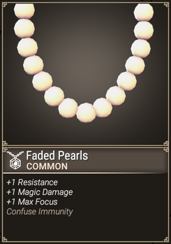 Faded Pearls