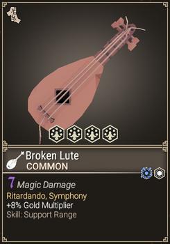 Broken Lute