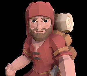 Woodcutter - Portrait