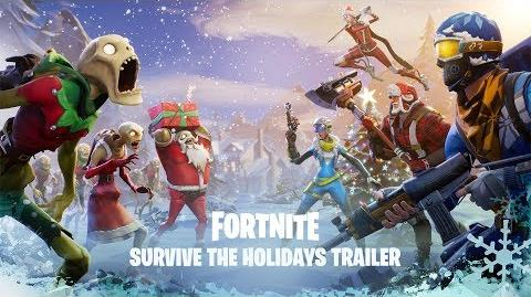 Survive the Holidays (Save the World) Announce Trailer