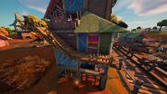 Boney Burbs (Center Building - Middle Outer Stairs) - Location - Fortnite