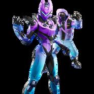 Zone Wars Bundle (Galaxy Blue) (New) - Item Shop Bundle - Fortnite