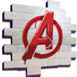 Fortnite Avengers-Logo Spraymotiv