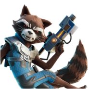 Rocket - Back Bling - Fortnite