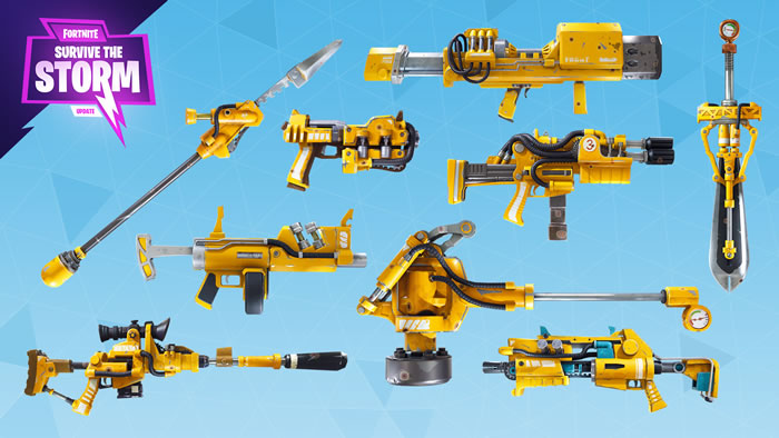 Armes hydrauliques (Sauver le Monde)