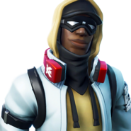 Stratus (Red) - Outfit - Fortnite