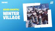 Fortnite Kreativmodus Winter Village-Fertigobjekte
