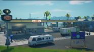 Believer Beach (Gas Station 17.10 - Main View) - Location - Fortnite