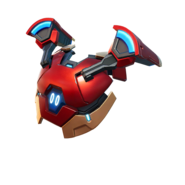 Iron Man Backplate - Back Bling - Fortnite