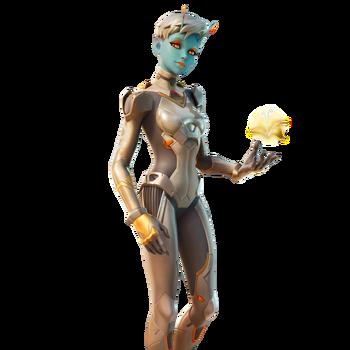 Sandstone Alien