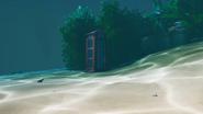 Sharky Shell (Phone Booth) - Landmark - Fortnite