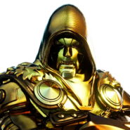 Doctor Doom (Gold Foil) - Outfit - Fortnite