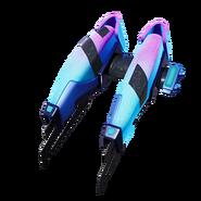 Starcrest Flux (Galaxy Blue) - Back Bling - Fortnite
