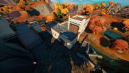 The Spire (Small Spire Building - Back View) - Location - Fortnite