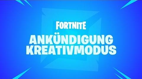 Fortnite – Ankündigung des Kreativmodus